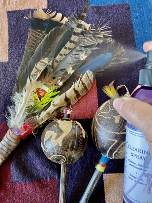 Shaman Clearing Spray clearing medicine tools