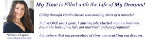 Nathalie's testimonial