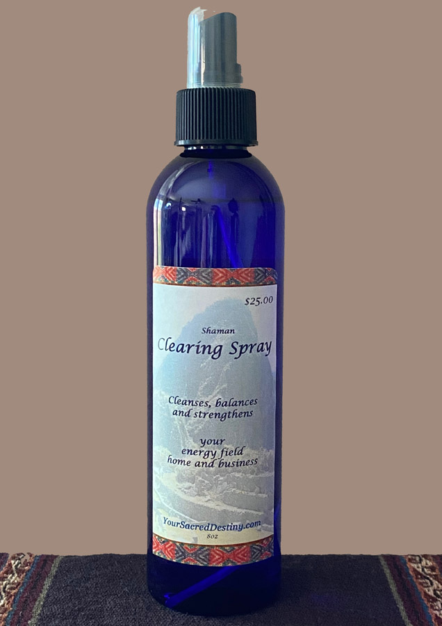 Shaman Spray - Your Sacred Destiny
