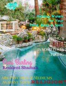 Cover of Spiritual Biz Magazine - Dani Burling